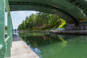 Canal de l'Ourcq à vélo / ©Mila Colas
