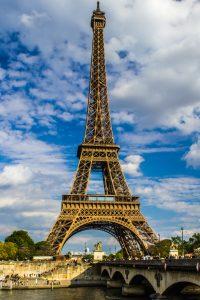 Tour Eiffel, Paris, 2016