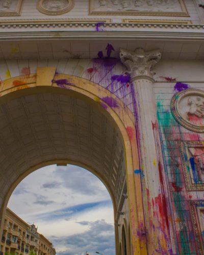 Arc de triomphe skopje macédoine