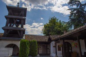 Eglise Skopje Saint Sauveur