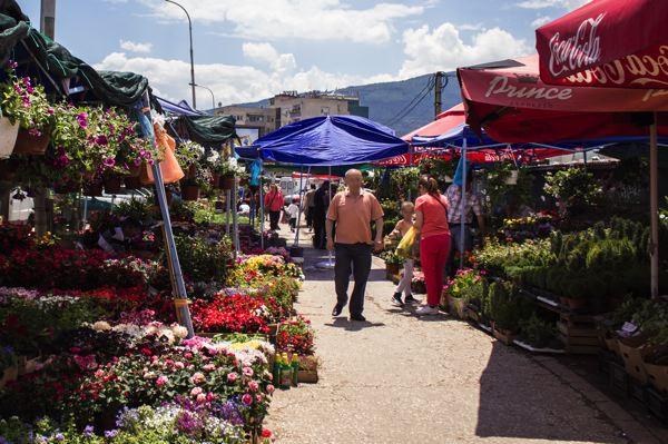 Vieux bazar Skopje