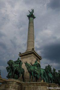 Hősök tere ou la Place des héros - Budapest
