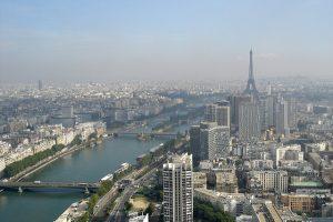 Vue depuis le Ballon de Paris