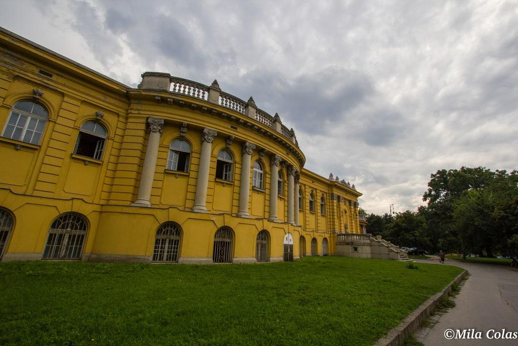 Bains széchenyi - entrée - Budapest -