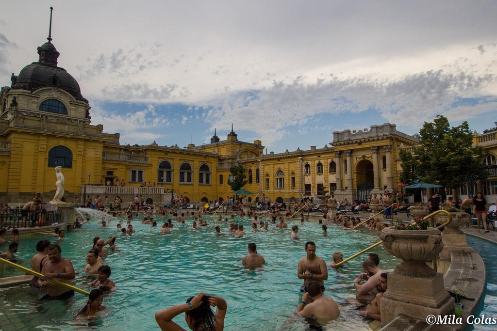 Bains széchenyi - Budapest