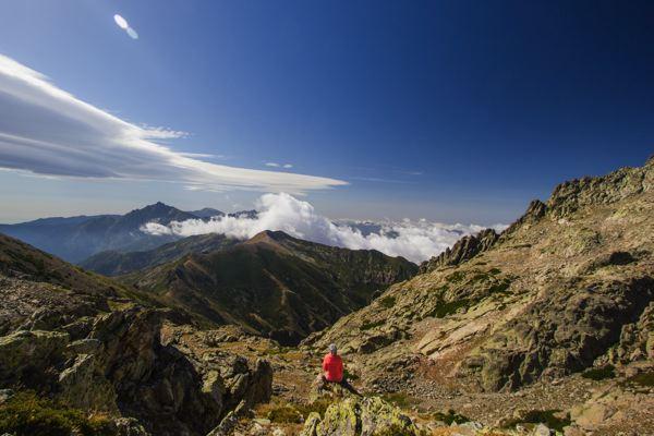 Profiter des montagnes... Sur le GR20 Corse
