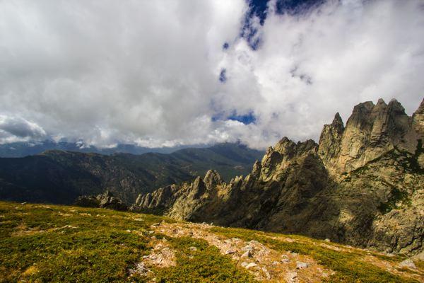 Montagne sur étape de Pietra Piana à Manganu - GR20 Corse