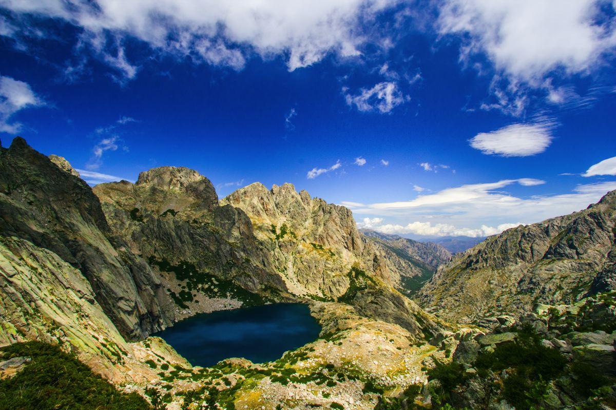Le lac de Capitello - GR20 - Corse