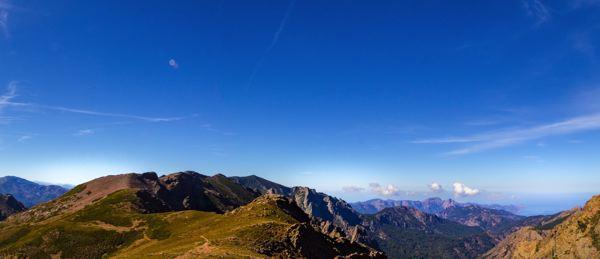 Panorama - GR20 Corse, toit des montagnes