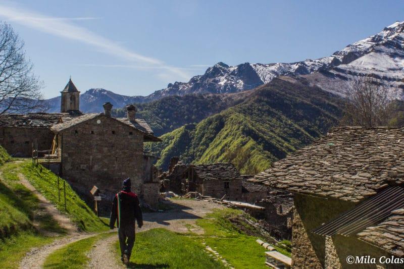 Campofei, à deux pas de Valliera, encore en ruine