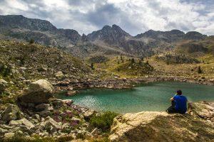 Lac des alpes italiennes