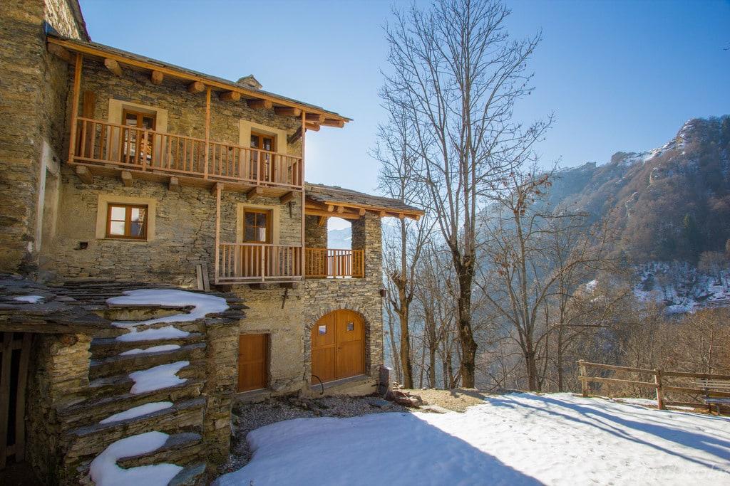 Maison du village de Valliera