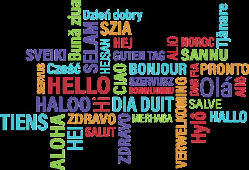 Apprendre une langue - bonjour
