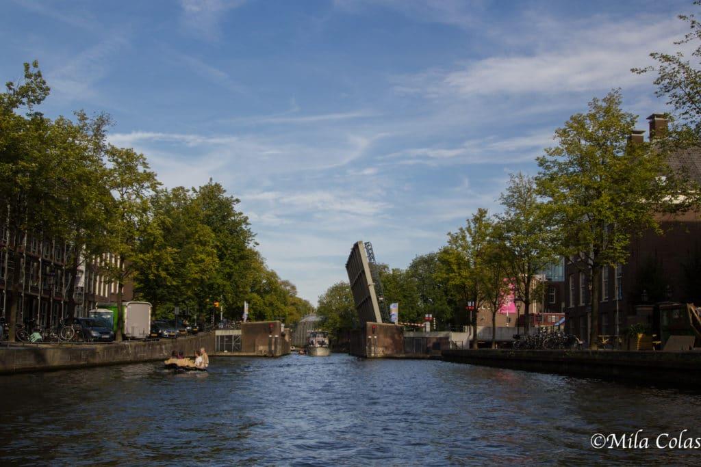 Pont levant à Amsterdam