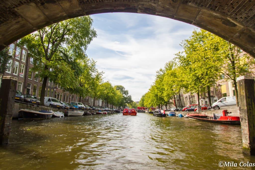Sous les ponts d'Amsterdam !