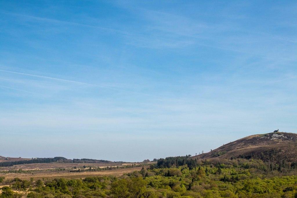 Mont Saint Michel de Brasparts sur sa colline !