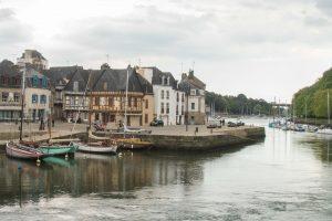 Auray, ses maisons à colombages et son petit port