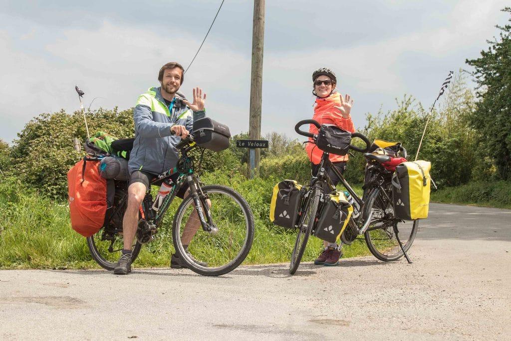 Denni & Mila - vélo en couple -500 km à vélo