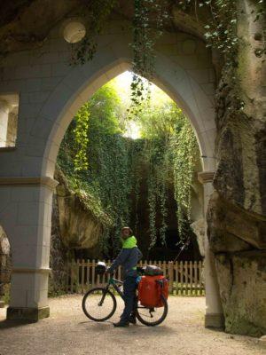 Maisons troglodytes à Saumur - sur la loire à vélo