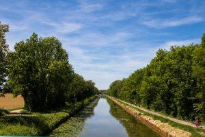 Canal du centre - Est de la France - voyage à vélo