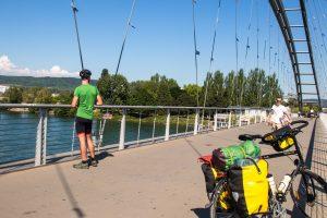Pont des trois pays - Bâle - Suisse