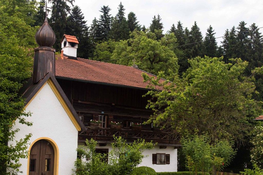 Maison typique bavaroise - Allemagne