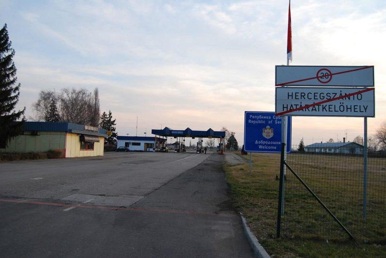 frontière - carte d'identité Hongrie