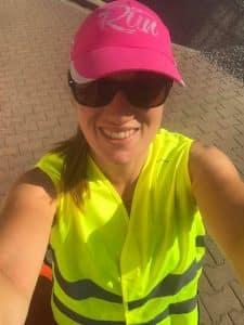 Mila-gilet jaune-sécurité en voyage à vélo