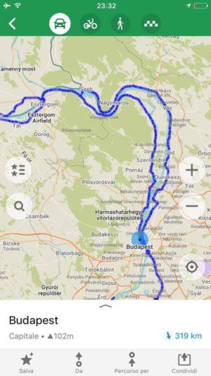 eurovélo 6 avant Budapest