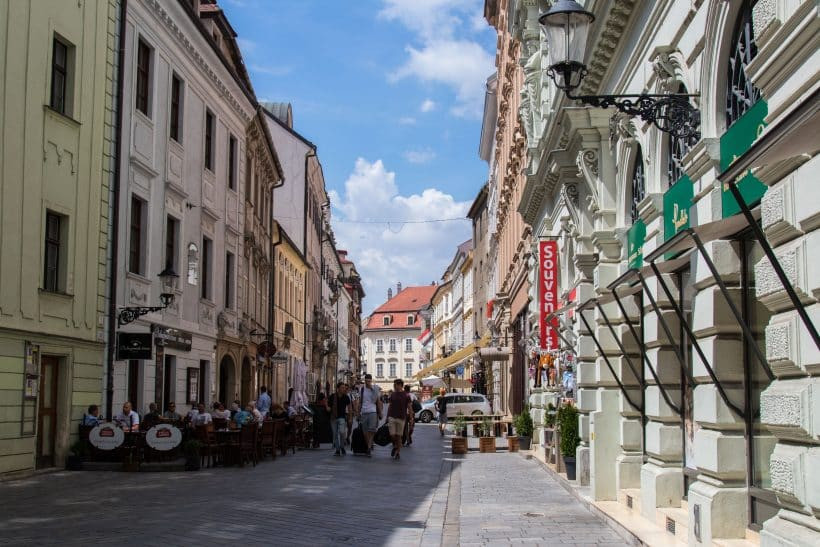Bratislava, centre-ville
