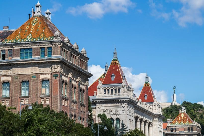 Toits de Budapest, la perle du Danube