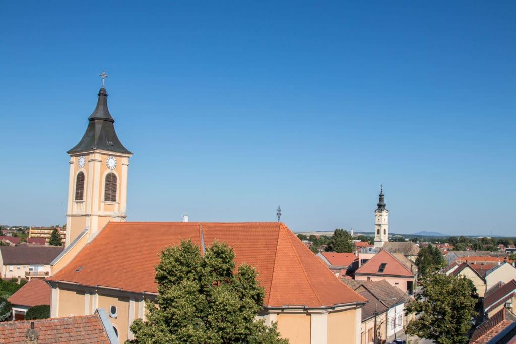 Mohacs, Hongrie, EuroVelo 6