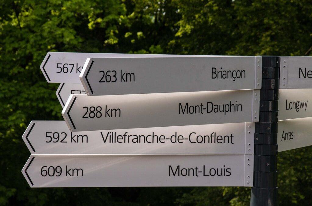 Planifier son parcours avant un voyage à vélo