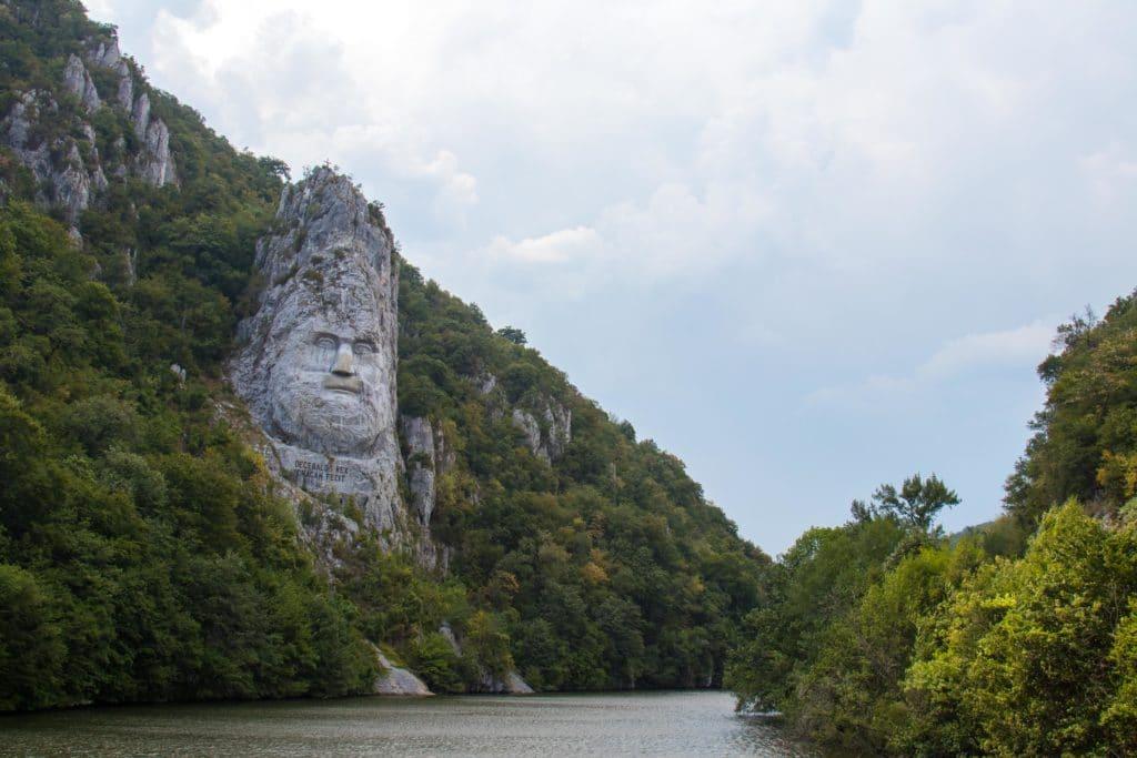 Lui Décébale, portes de fer, Roumanie