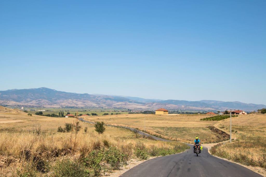 Macédoine à vélo
