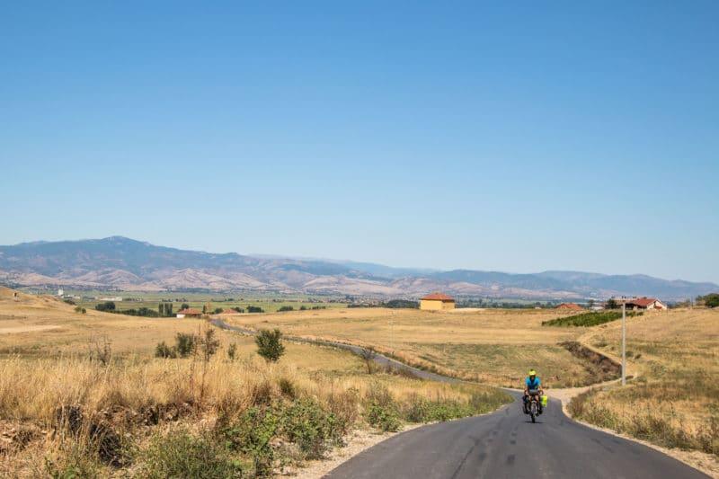 Macédoine à vélo - voyage à vélo - cyclotourisme