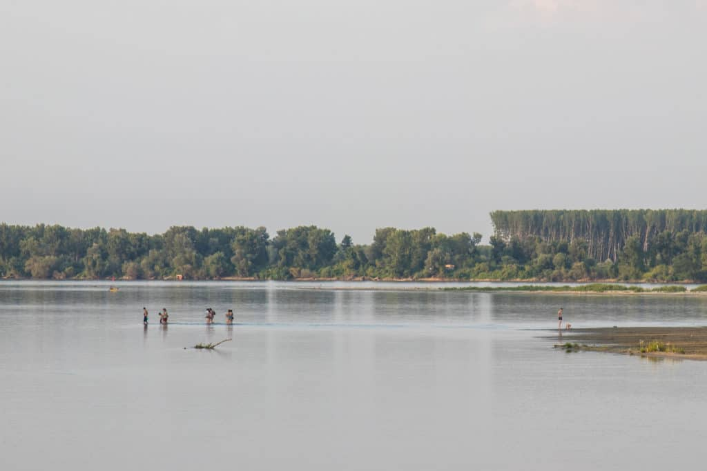 Danube, Serbie