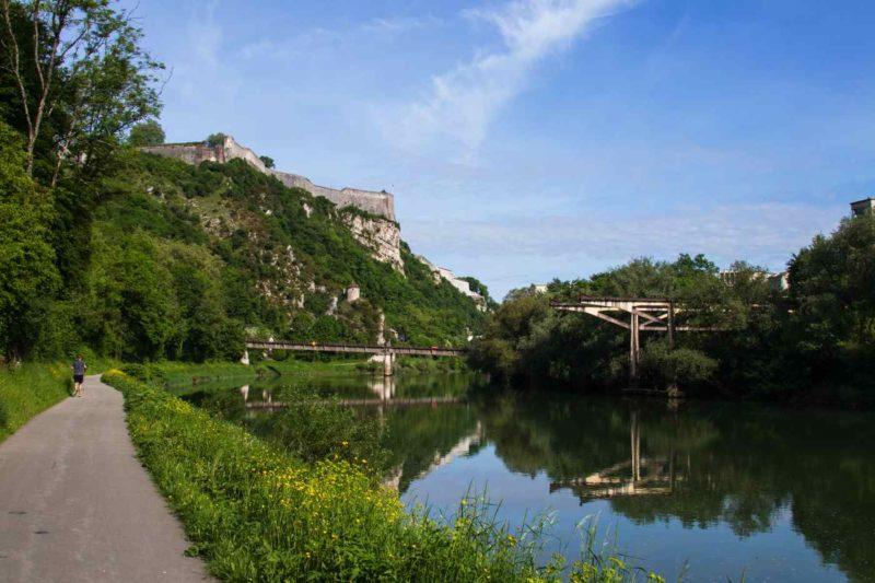 forteresse besançon eurovélo 6 France