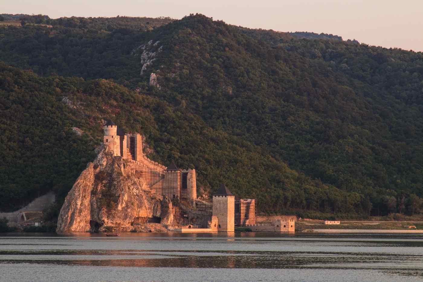 Forteresse de Gobulac - Serbie - Eurovélo 6