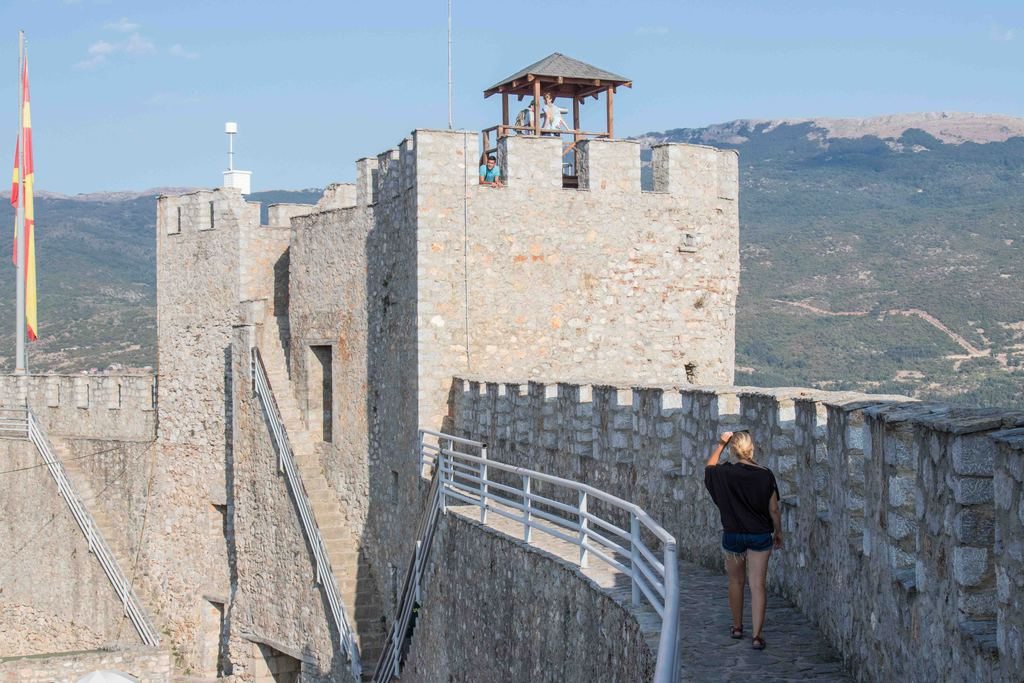 remparts forteresse Samuel - Ohrid