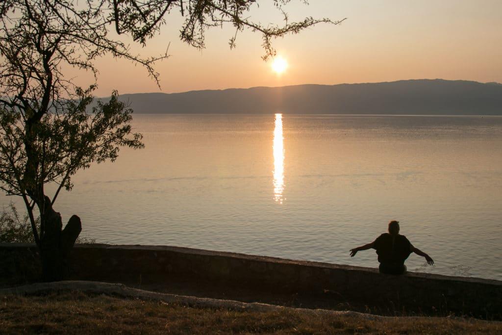 pensées lac Ohrid