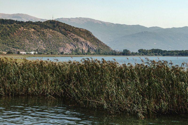 Lac d'Ohrid à vélo