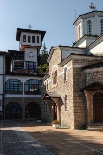 Monastère lac d'Ohrid