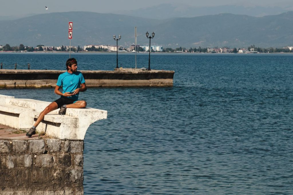 Bords du lac d'Ohrid