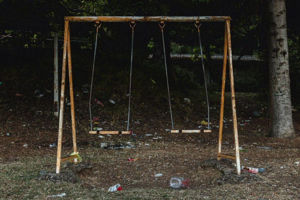 camping abandonné Ohrid