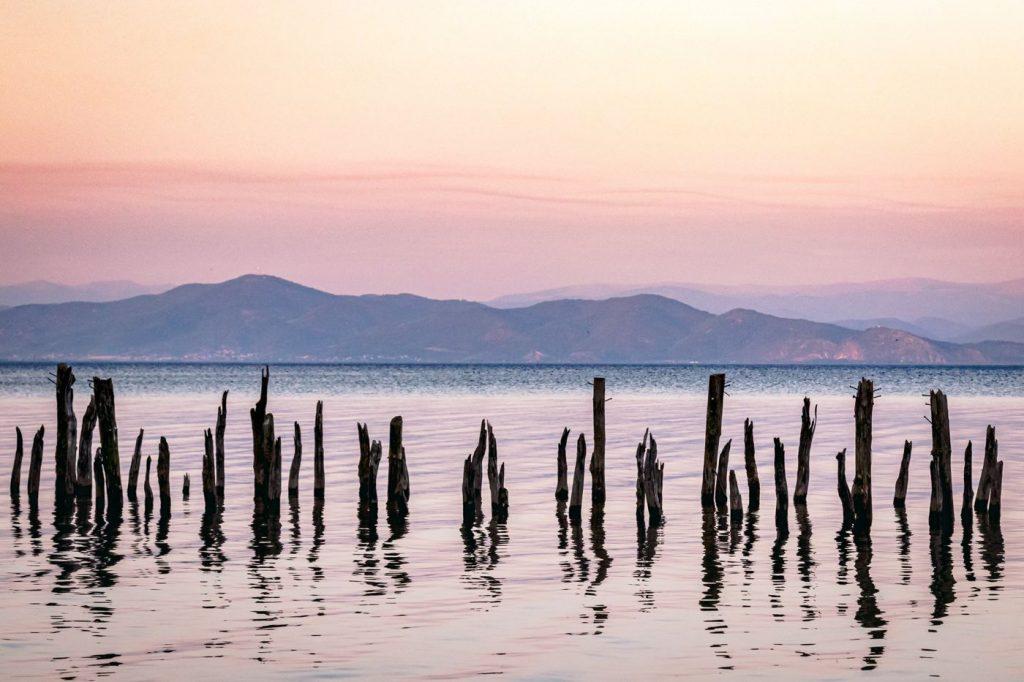 Lac d'Ohrid - Bivouac