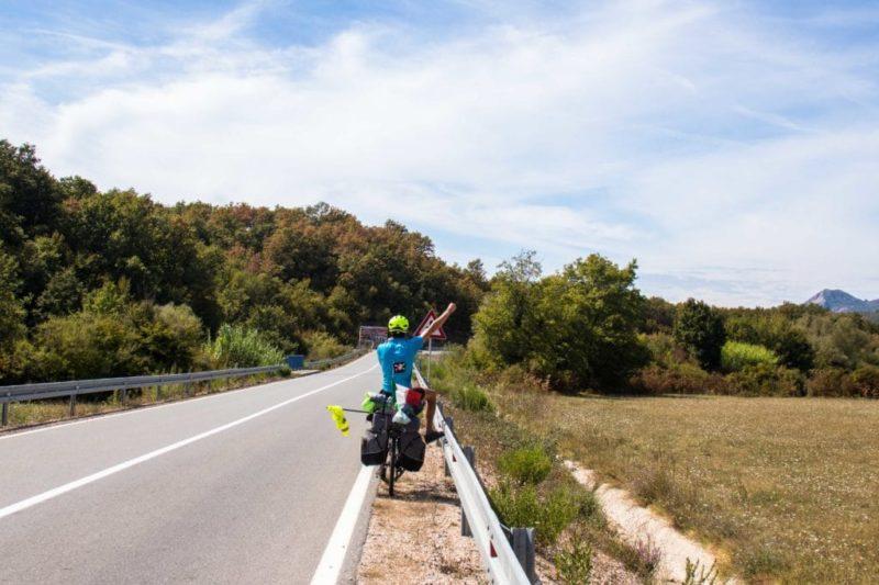 Route - Monténégro - vélo