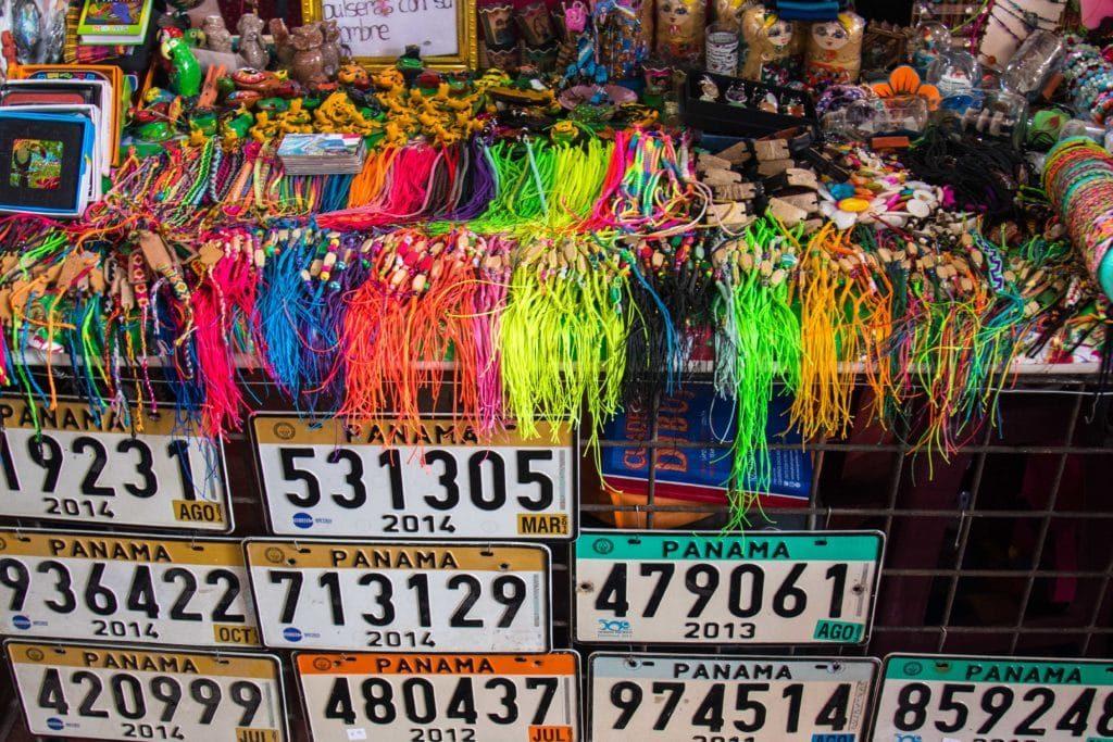 Bracelets panaméens - El Valle - mercado