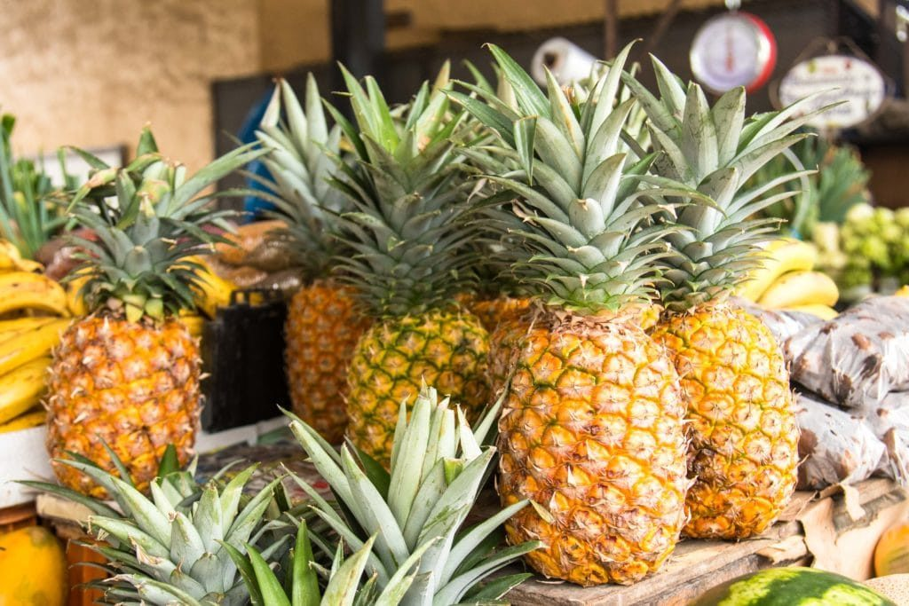 Ananas frais - El Valle - mercado