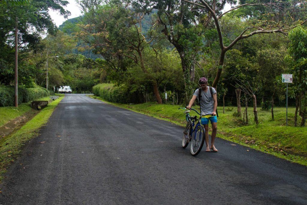 Le vélo à El Valle